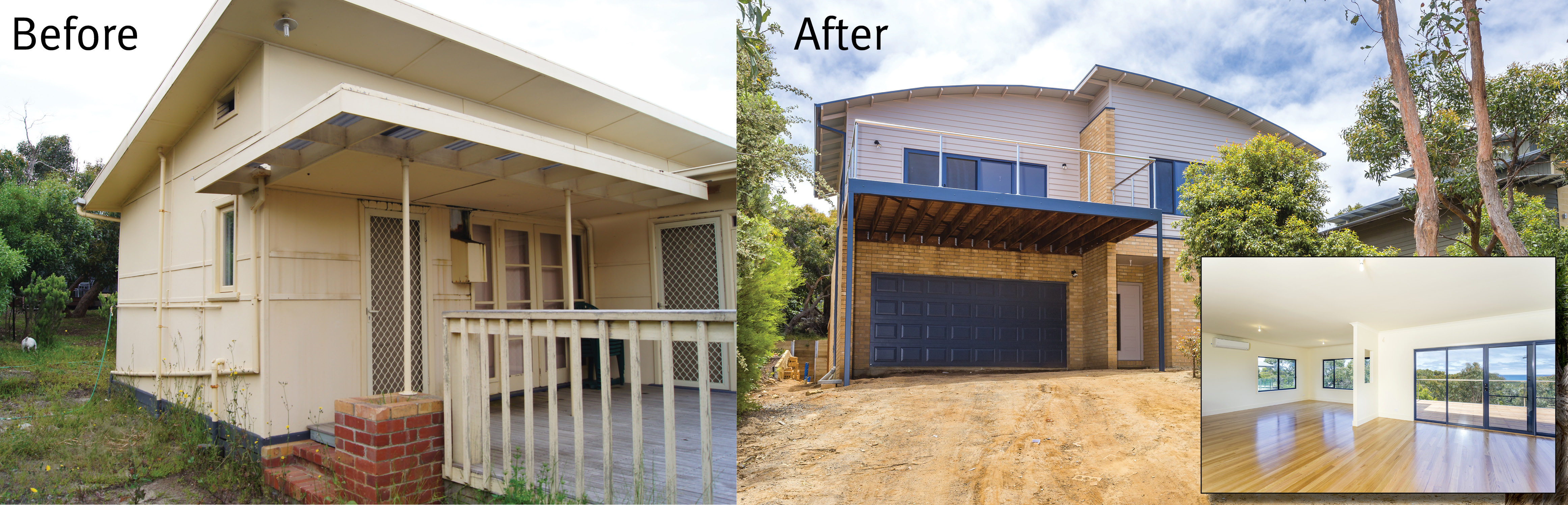 Knockdown rebuild project by Hotondo Homes builder Peter Scott.