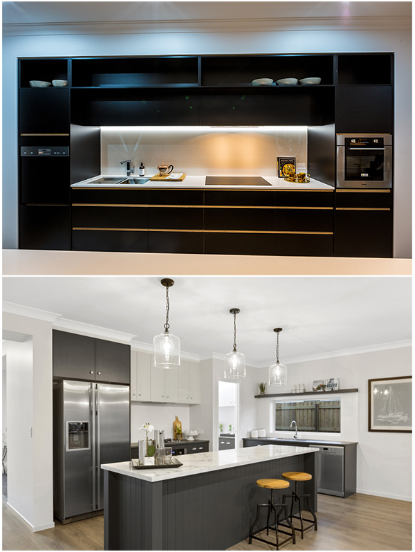 Black kitchen design trends