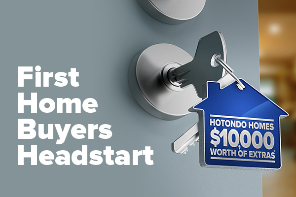 Hotondo Homes HeadStart Promotion image
